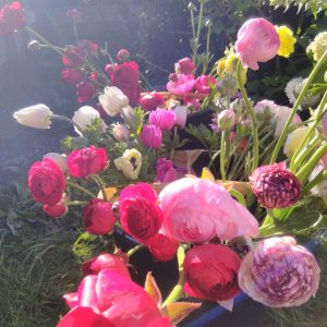 DIY Flower Buckets