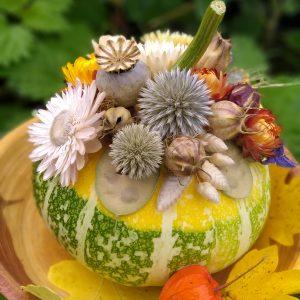 floral gourd